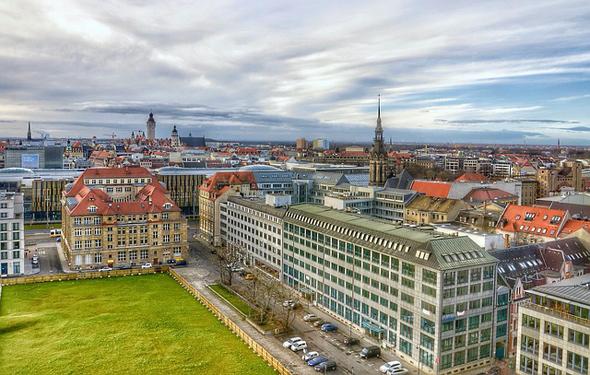 Das moderne Leipzig hat nicht mehr viel mit dem Leipzig aus Luthers Tagen gemeinsam.