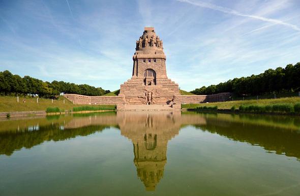 Berühmtestes Bauwerk in Leipzig: das Völkerschlachtdenkmal.