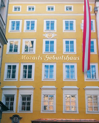 Pilgerstätte im Herzen von Salzburg: Das Geburtshaus von Mozart.