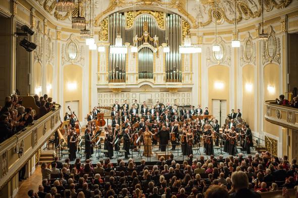 Das Mozarteum-Orchester Salzburg blickt nicht ohne Stolz auf eine 175-jährige Geschichte.