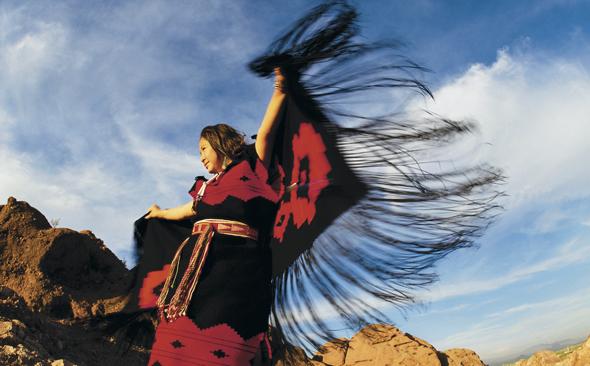 Auch traditionelle indiansische Tänze werden noch heute aufgeführt.