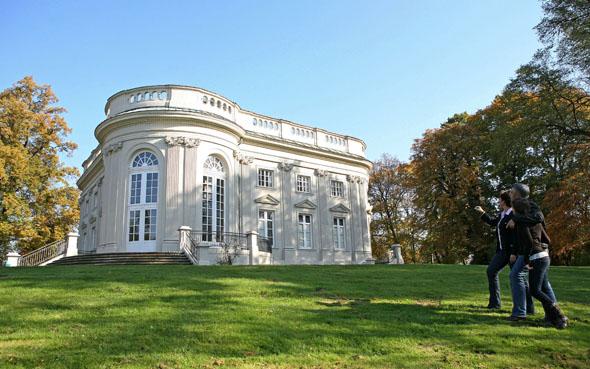 Der Richmond Park mit seinem Schloss ist ein beliebtes Ausflugsziel in Braunschweig. (Foto: Sascha Gramann)
