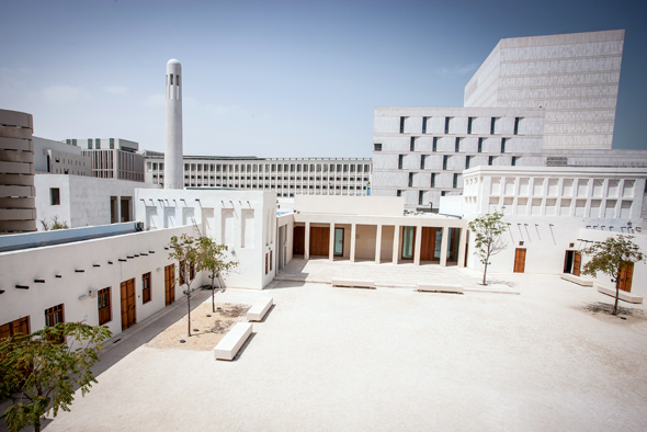 Auch architektonisch setzt das Msheireb Museum neue Maßstäbe.