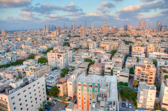 Blick auf die Skyline von Tel Aviv. (Foto Israelisches Tourismusministerium)