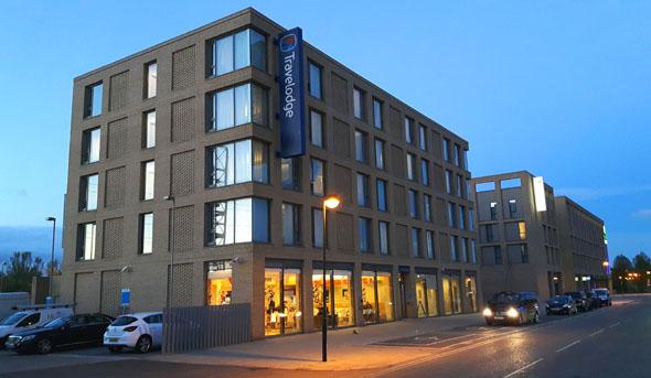 Das einfache Hotel liegt unweit des London City Airports und ca. 20 Minuten Fahrzeit außerhalb der City of London. (Foto Karsten-Thilo Raab)