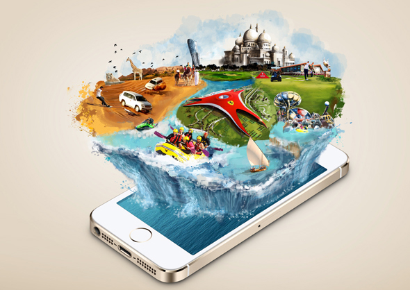 Neu, kostenfrei und intuitiv zu bedienen ist die neue App für Abu Dhabi. (Foto (TCA Abu Dhabi))