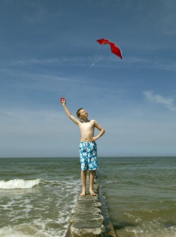 Der Nordseestrand lädt Kinder zum Spielen ein. (Foto: Philip Koschel)