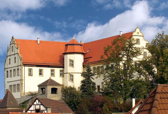 """Das Greckenschloss in Bad Friedrichshall ist ein um 1600 errichteter Herrensitz der """"Grecken von Kochendorf"""". (Foto: djd)"""