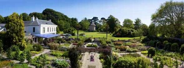 Ein besonderes Kleinod auf Jersey: Samarès Manor mit den dazugehörigen Gärten. (Foto Visit Jersey)