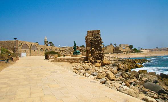 In finden sich Spuren römischer Geschichte auf Schritt und Tritt. (Foto Israelisches Tourismusministerium)