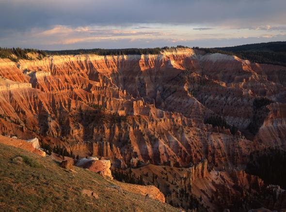 Ein spekatakuläresw Stück Natur in Utah: die Cedar Breaks. (Foto Tom Till)