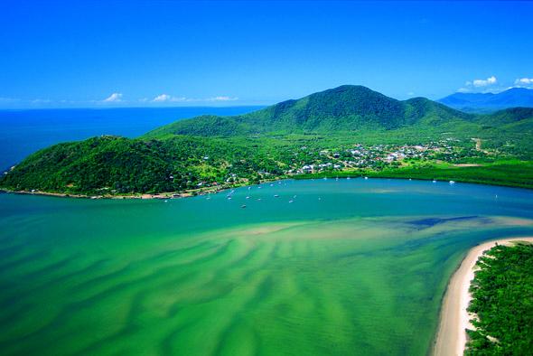 """Startpunkt für den Gamaay Track"""": der nordaustralische Cooktown. (Foto TEQ)"""