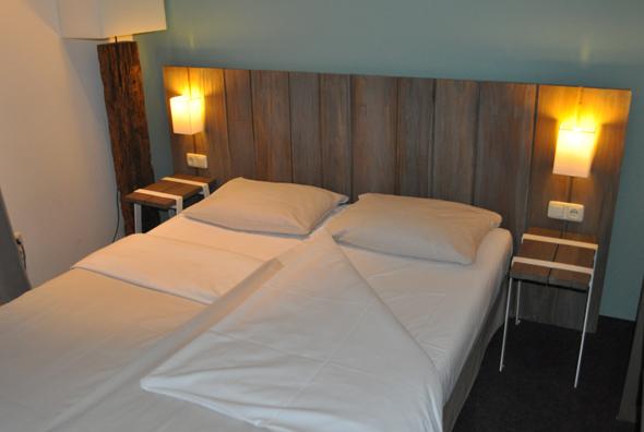 Fast ausschließlich auf Naturmaterialien setzt das Hotel Sand am Timmendorfer Strand. (Foto Uwe Keller)