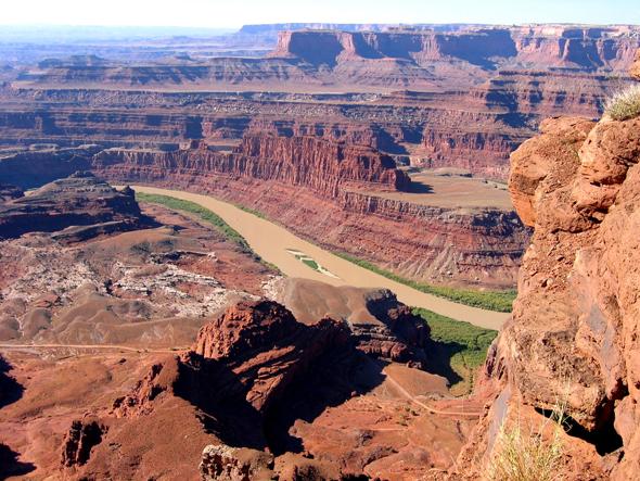Der Dead Horse Point war in längst vergangenen Tagen Zufluchtsort für Kriminelle. (Foto Utah Office of Tourism)