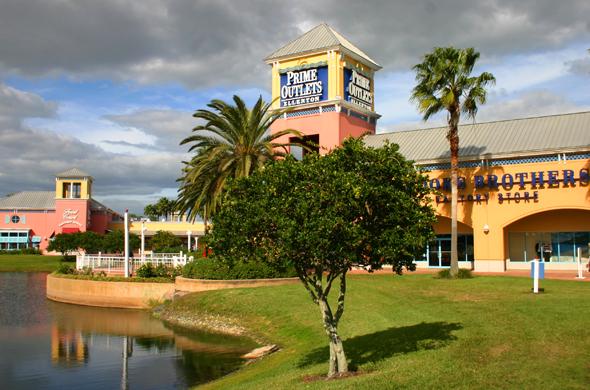 Einkaufsparadies auf der Pinellas-Halbinsel: das Ellenton Outlet. (Foto Karsten-Thilo Raab)