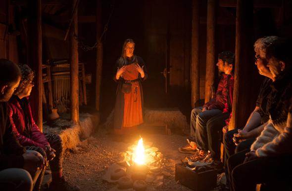 An zahlreichen Orten Islands wird die Kultur der Sagas mit Leben gefüllt. (Foto Frank Bradford)