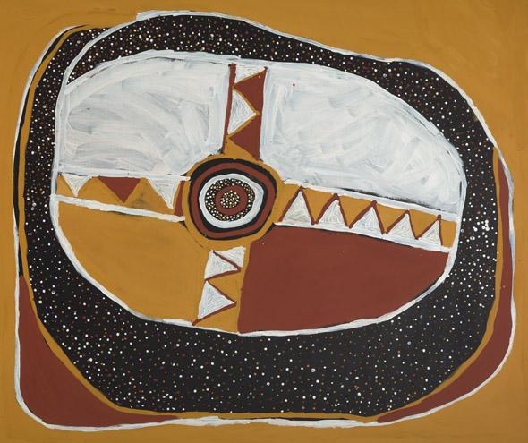Ausgewählte Kunst wie dieses Werk von Timothy Cook wird in der Gallery of Modern Art präsentiert. (Foto Queensland Art Gallery)