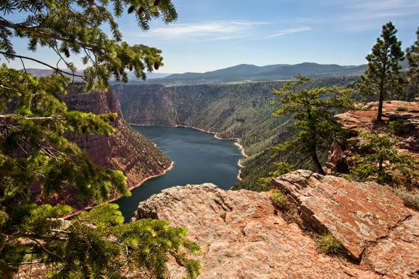 Die Flaming Gorge National Recreation Area ist vielleicht das spektakulärste Reservoir des amerikanischen Westens. (Foto Matt Morgan)