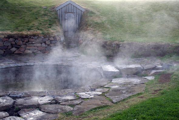Ein mystischer Ort: Snorres pool (Foto Rognvaldur Gudmundsson)