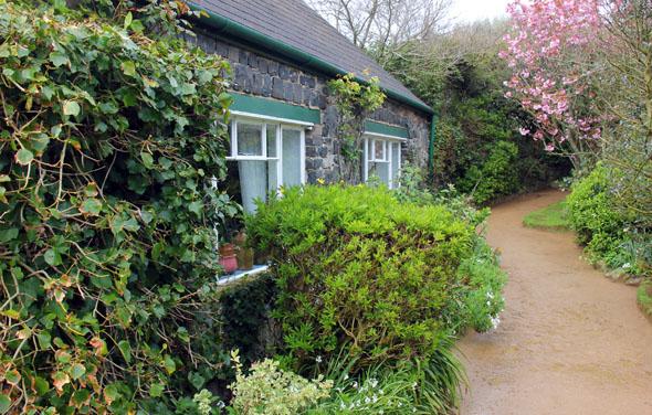 Cottage-Idylle auf Little-Sark. (Foto Karsten-Thilo Raab)