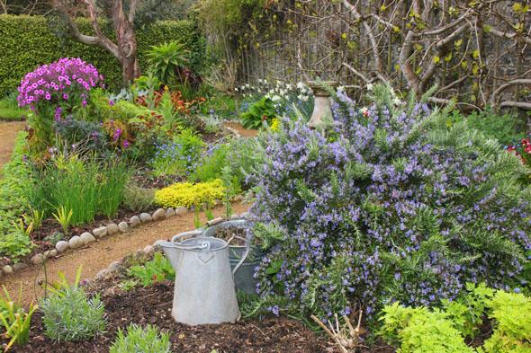 Sechs Gärtner kümmern sich um die Pflanzenpracht der La Seigneurie Gardens. (Foto Karsten-Thilo Raab)