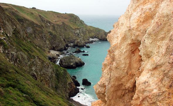 Nicht weniger als 35 Kilometer Küste finden sich auf Sark. (Foto Karsten-Thilo Raab)