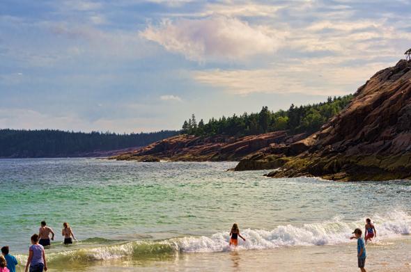 Sommerspaß am Sand Beach
