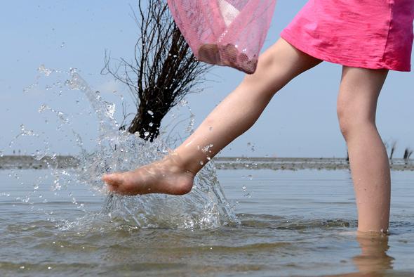 """Als Seebad zieht Cuxhaven seit 200 Jahren """"Sehleute"""" und Erholungssuchende an. (Fotos Nordseeheilbad Cuxhaven)"""