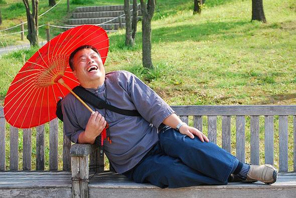 Nicht zuletzt die fröhliche, offene Art der Japaner macht das Land liebenswert.