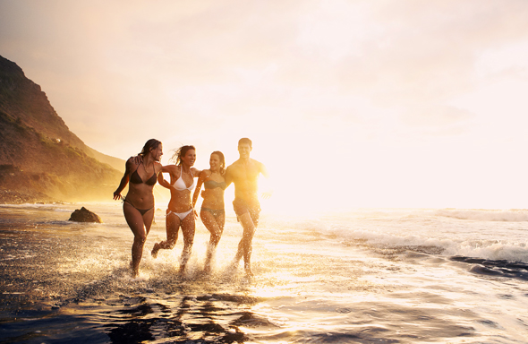 Einer der im wahrsten Sinne des Wortes ausgezeichneten Strände auf Teneriffa: Playa El Socorro.