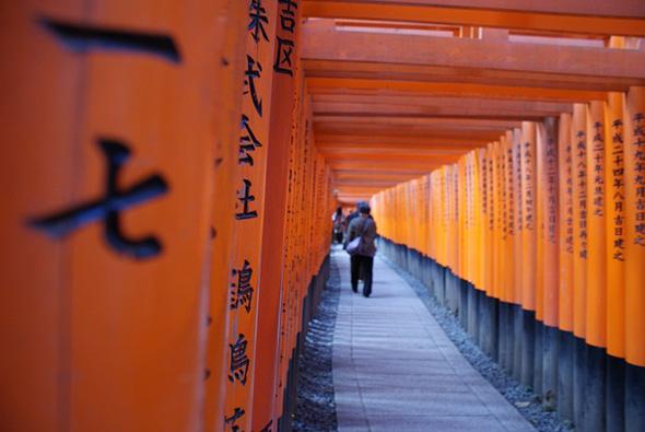 Bei der Zen-Meditation wird ein ganz anderer Einblick in japanische Klöster und Tempel gewonnen,