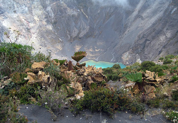 Zur spektakulären Landschaft zwischen Karibik und Pazifik zählen viele Vulkane.