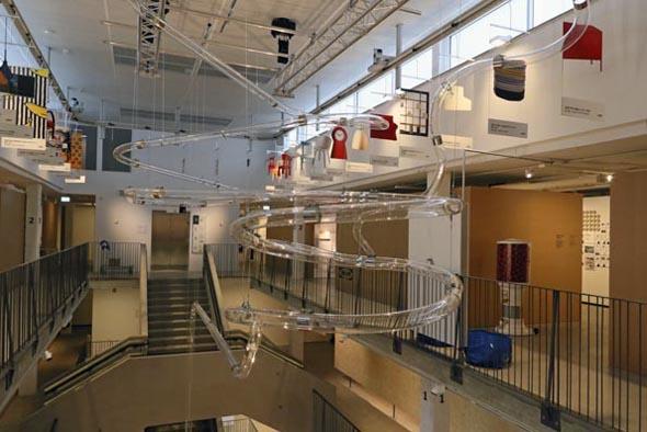 Für das Museumsprojekt wurde das erste Ikea-Haus der Welr aufwendig umgestaltet. (Foto Udo Haafke)