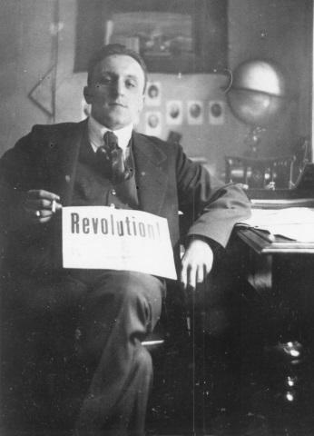 Carl von Ossietzky im Jahre 1919 als Lektor des Pfadweiser-Verlags. (Foto BIS/Carl von Ossietzky Universität Oldenburg)