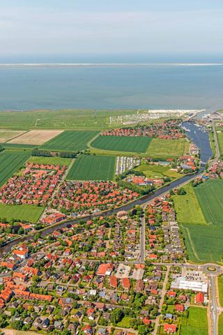 Einfach dem Lauf der Harle bis zur Nordsee folgen: Carolinensiel-Harlesiel ist das Nordseebad der drei Häfen. (Foto: djd)