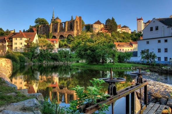 Das mittelalterliche Bautzen war früher eine wehrhafte Grenzfeste. (Foto: Peter Wilhelm)