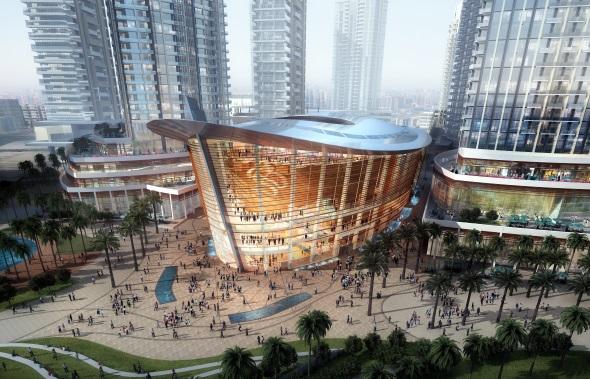 Die neue Oper bietet bis zu 2.000 Besuchern Platz. (Fotos DTCM)