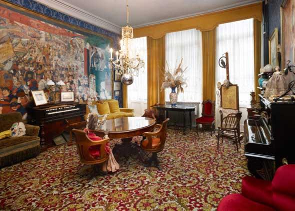 Anlaufpunkt für Kulturliebhaber in Ostende: das Ensor Haus. (Foto Steven Decroos)