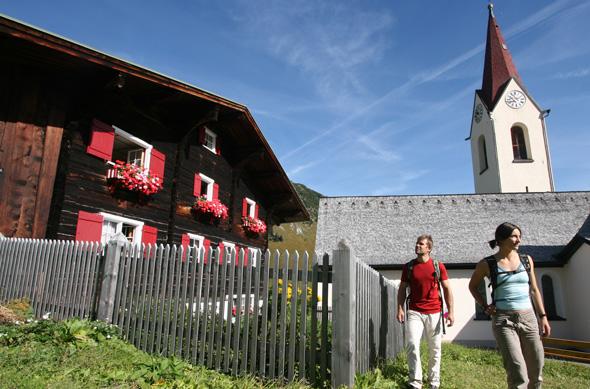 Auch auf den Spuren der Walser lässt sich am Lechweg Spannendes entdecken.