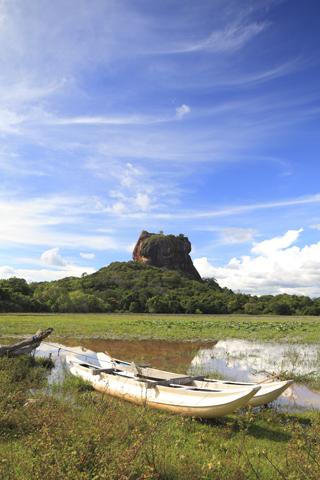 Zum kulturellen Pflichtprogramm für Kulturinteressierte zählen in Sri Lanka der Löwenfelsen in Sigiriya.