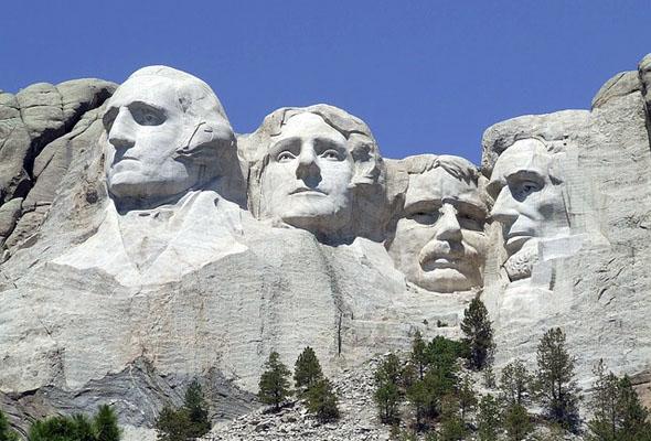 Seit 75 Jahren ein Besuchermagnet in South Dakota: der Mount Rushmore.