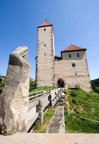 Ein besonderes Kleinod: die Burg Trausnitz. (Tourismuszentrum Oberpfälzer Wald)