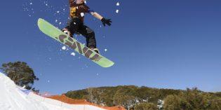 Hochsaison für australische Schnee-Fans