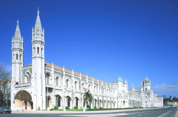Ein Prachtbau als Weltkulturerbe: das Jerónimus-Kloster in Belém.