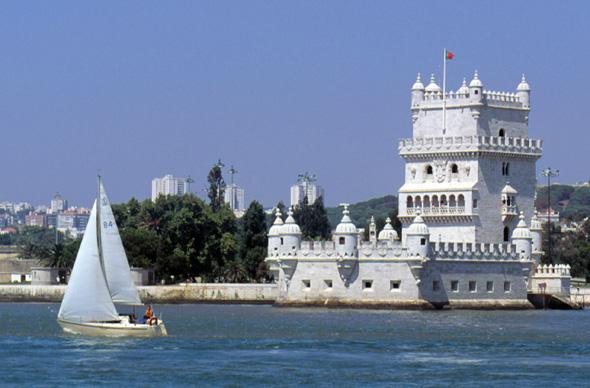 Der Torre de Belem steht als Weltkulturerbe unter dem Schutz der Unesco.