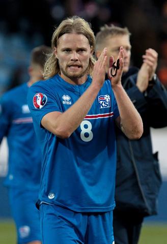 Einer der Stars aus dem hohen Norden: Birkir Bjarnason.