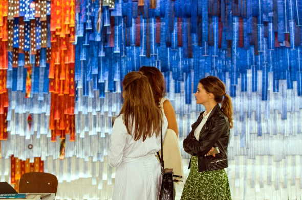 Zeitgenössische Kunst finden im Emirat Dubai einen immer größeren Raum.