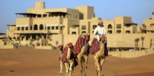 Dattelfest in der Wüste von Abu Dhabi