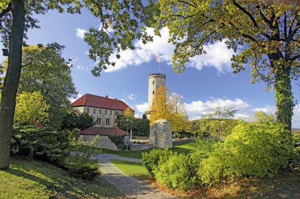 Ein besonderes Kleinod: die Sparrenburg in Bielefeld. (Foto Bielefeld Marketing)