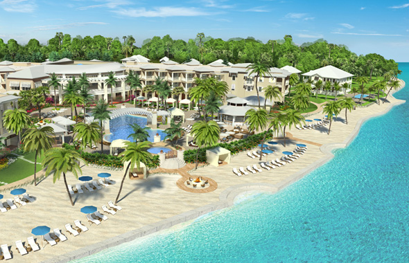 Das neue Playa Largo Resort & Spa in Key Largo bietet direkten Zugang zum Strand. (Foto Playa Resort & Spa)